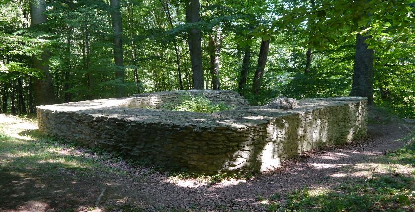 Die Burg und ihr Wirtschaftshof Wermsdorfer Wald Freilichtmuseum